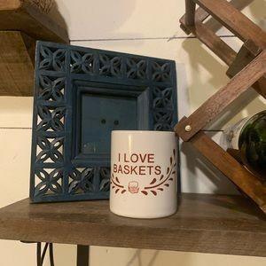 🌵I love ❤️ baskets mug